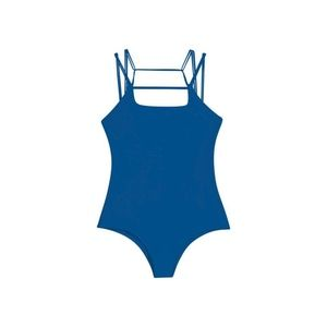 Mikoh Swimwear Blue ATHENS One Piece Swimsuit